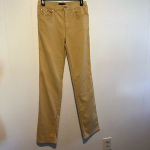Roccobarocco Italian gold jeans.  Size 31. Tall